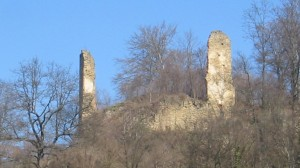 Razvaline gradu Gornji Rogatec